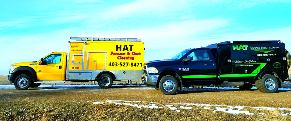 Duct Cleaning Medicine Hat - Our Trucks
